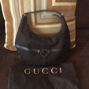 Authentic Gucci Canvas Purse